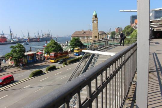 U-Bahn Landungsbrücken