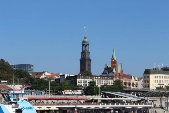 Wahrzeichen von Hamburg der Michel