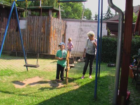 Kinderspielplatz auf dem Haflinger-Ferienhof Hamburg