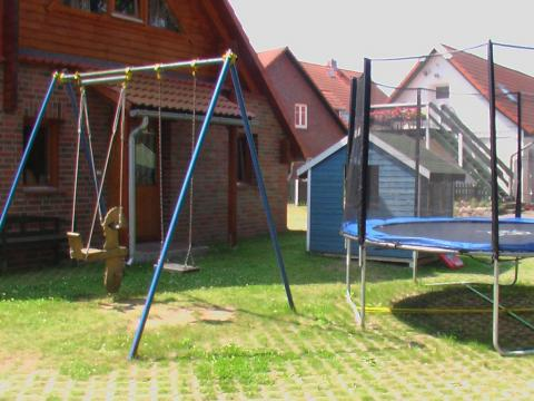 Trampolin auf dem Haflinger-Ferienhof Hamburg
