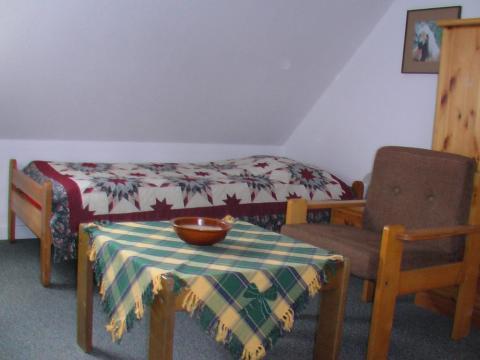 Zweibettzimmer im Handwerker-Gästehaus auf Ferienhof